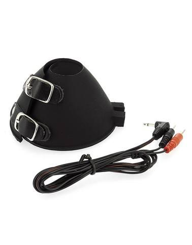 Накладки для стимуляции яичек-груди, биполярные - Rimba Electro Ballstretcher Parachute, Bi Polar