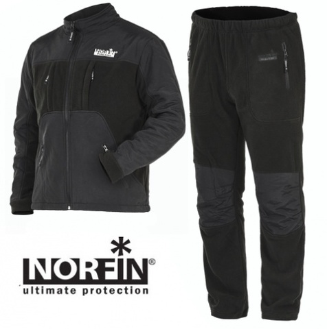 Костюм флисовый Norfin POLAR LINE 2 GRAY, р. S, арт. 337101-S