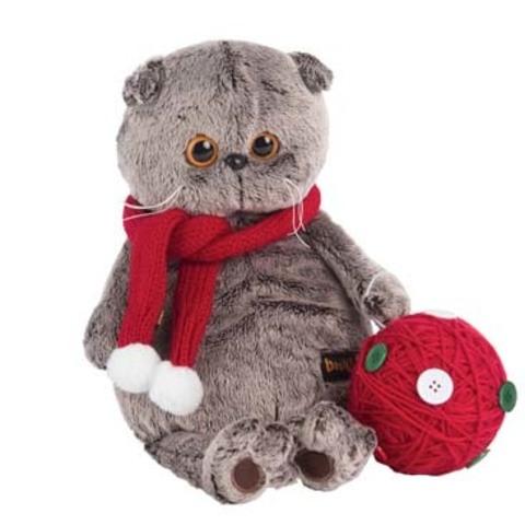 Мягкая игрушка Кот Басик с клубком купить с доставкой по России