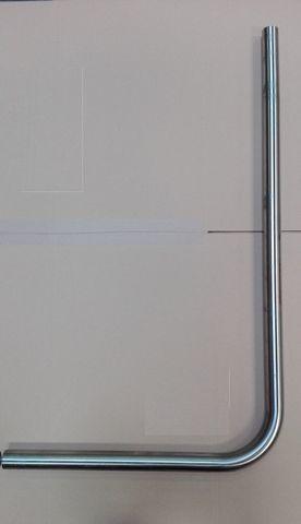 13046780 Отвод диаметром 51 мм для молочного трубопровода, 1300х760 мм