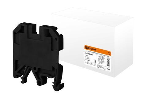 Зажим наборный ЗНИ-4мм2 (JXB35А) черный TDM