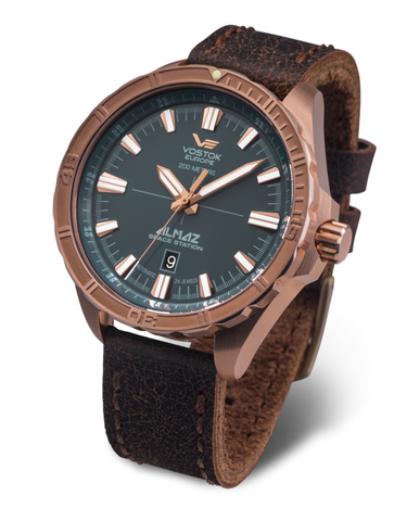 Часы наручные Восток Европа Алмаз Бронза NH35A/320O507