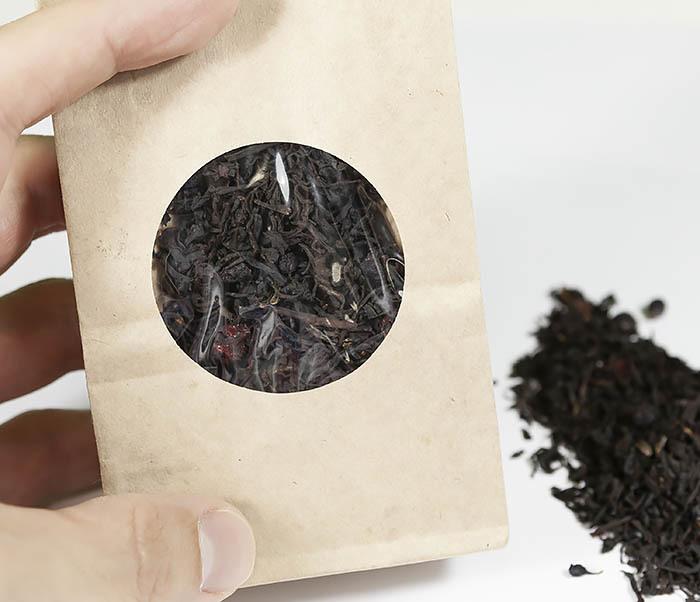 TEA-AR111 Черный ароматизированный чай «Русский чай» (50 гр) фото 04
