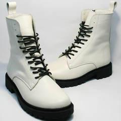 Зимние ботинки женские Ari Andano 740 Milk Black.