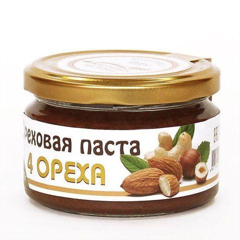 Ореховая паста 4 ореха 200 г