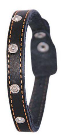 Ц1-002 ГАММА Ошейник 15 одинарный с украшением