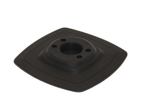 Монтажная ПВХ-площадка на надувной борт Mp225, 140 х 140 мм, черная