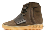 Кеды Мужские Adidas Yeezy Boost 750 Light Brown