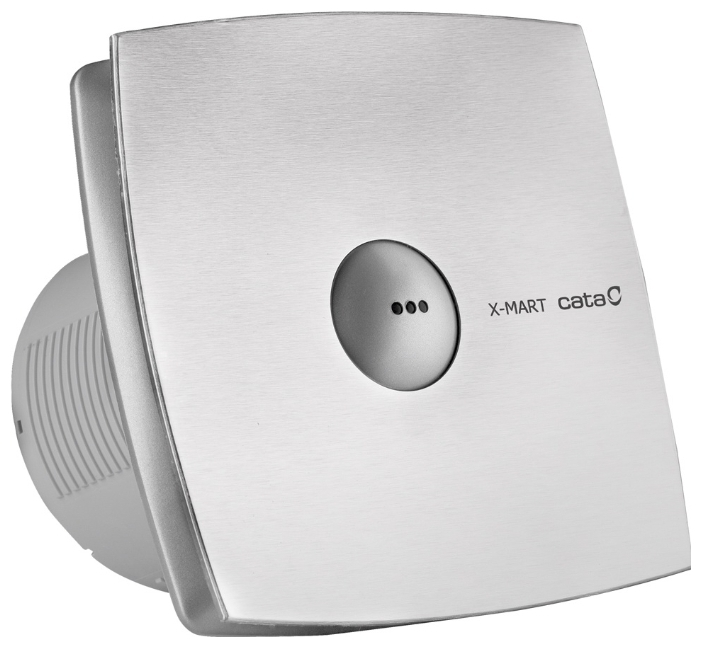 Cata X-Mart Matic Series Накладной вентилятор Cata X-Mart 10 matic inox Hygro 1868_cata-ventilyator-x-mart-15-matic-inox-s.jpg