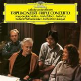 Anne-Sophie Mutter, Mark Zeltser, Yo-Yo Ma, Berliner Philarmoniker, Herbert von Karajan / Ludwig van Beethoven: Triple Concerto (LP)