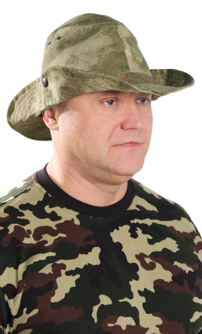 Панама Афганка тк.Рип-стоп цв. АТАК