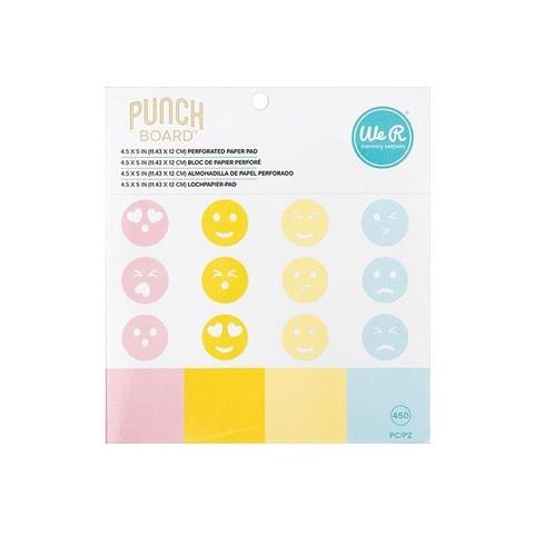Блок листов для использования с дыроколом для смайлов We R Memory Keepers Emoji Paper Pad- For Use With Emoji Punch Board (661810)