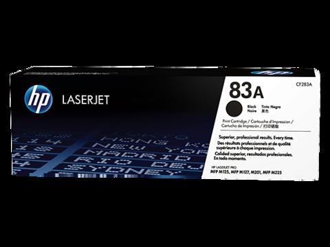 Оригинальный картридж HP CF283A (№83A), чёрный