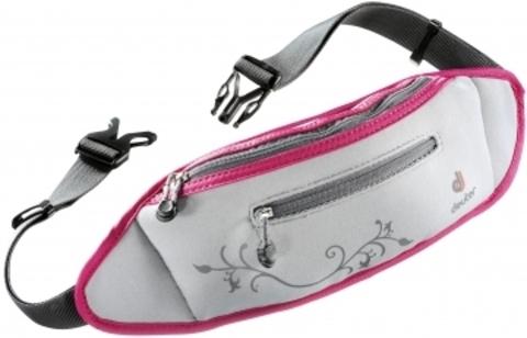 Картинка сумка для бега Deuter Neo Belt II silver-magenta