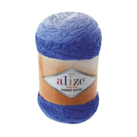 Купить Пряжа Alize Softy Plus Ombre Batik | Интернет-магазин пряжи «Пряха»