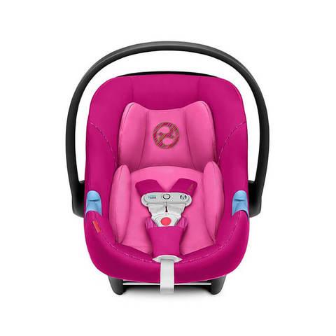 Автокресло Cybex Aton M i-Size Fancy Pink