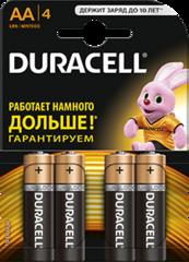 Батарейки Duracell LR6, AA (6/60) BL