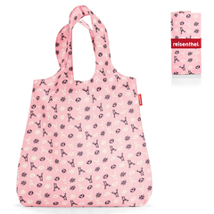 Сумка складная Mini maxi shopper bavaria rose Reisenthel