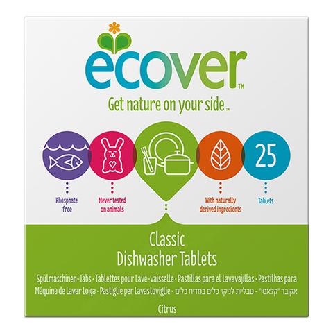 Ecover Classic Таблетки для посудомоечной машины, 500 гр