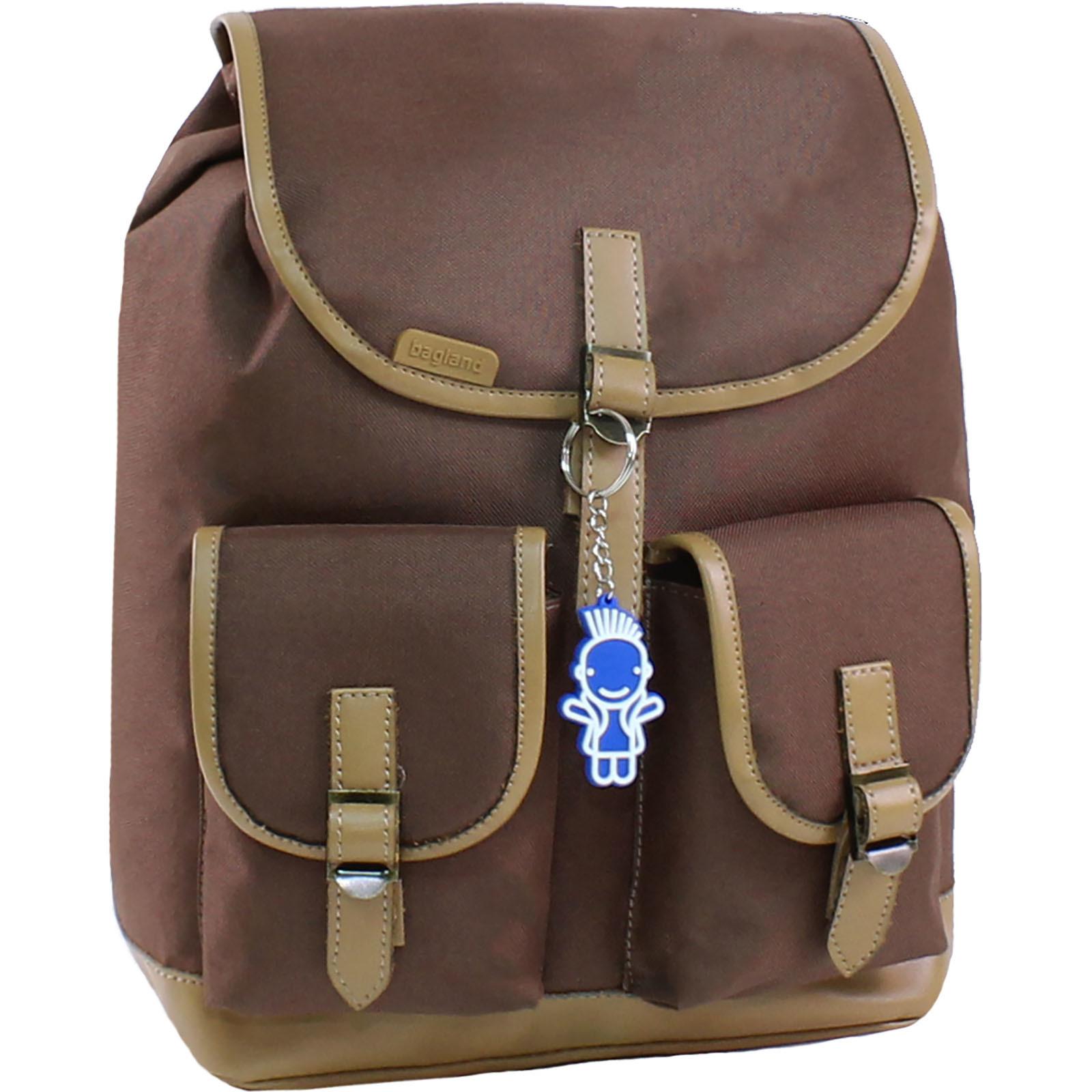 Городские рюкзаки Рюкзак Bagland Amy 16 л. 299 коричневий (0013066) IMG_8018.JPG