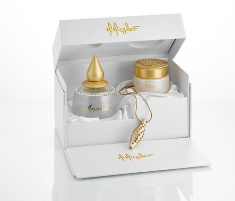 Micallef Ananda Set (Edp 100 ml + цепочка с кулоном + парфюмированные шарики для ванны)