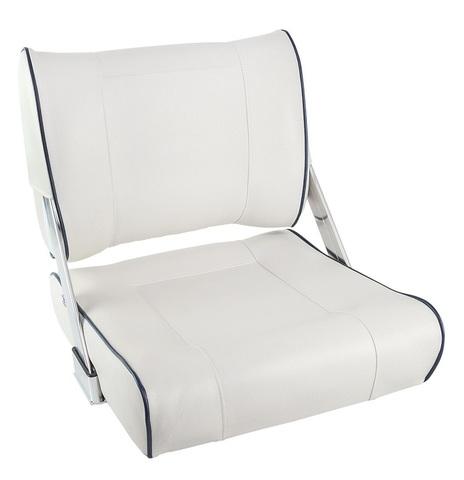 Сиденье мягкое SPORTMAN с перекидной спинкой, белое