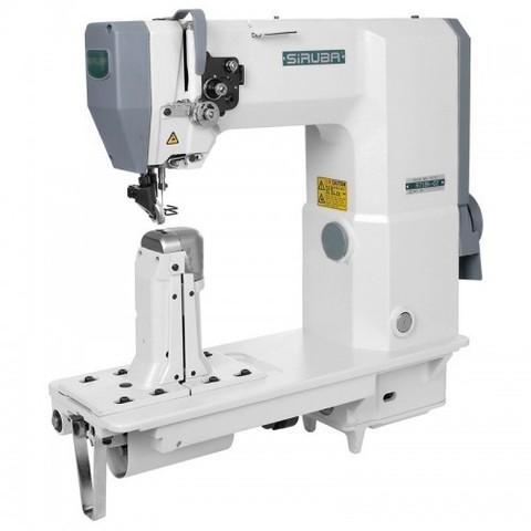 Промышленная швейная колонковая швейная машина Siruba R718K-02H | Soliy.com.ua