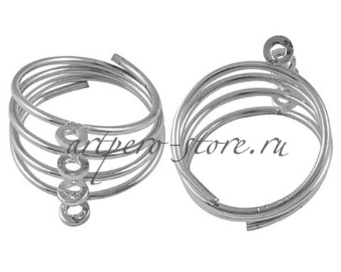 Основа для кольца  пружина, под никель