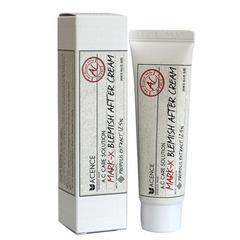 Mizon Acence Mark-X Blemish After Cream - Крем от прыщей и рубцов-постакне
