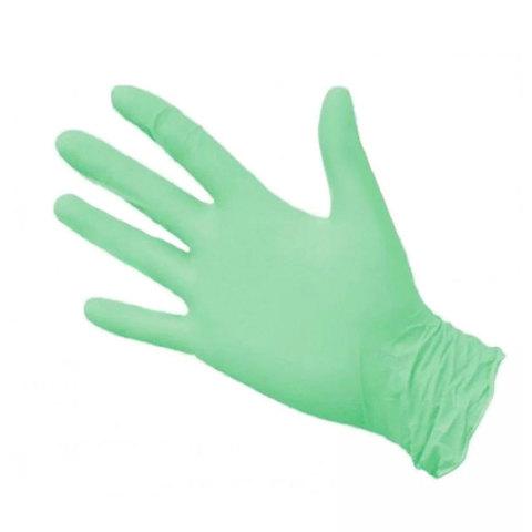 Перчатки нитрил MDC (TN347L) L-size зеленого цвета 100 пар/уп
