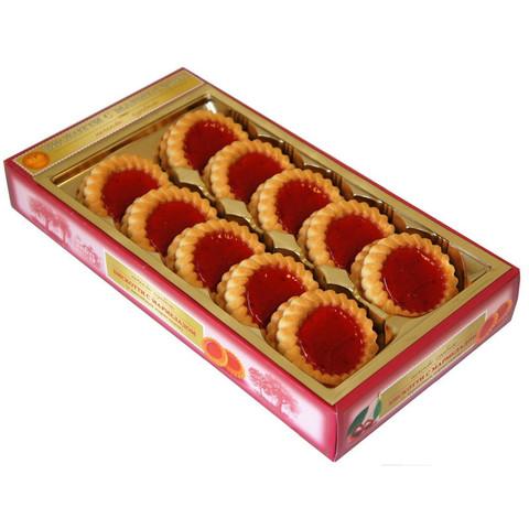Печенье сдобное Бискотти с вишневым мармеладом 235 г