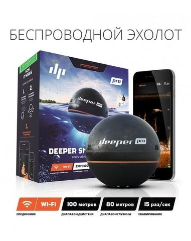Беспроводной эхолот DEEPER SONAR PRO (WI-FI)