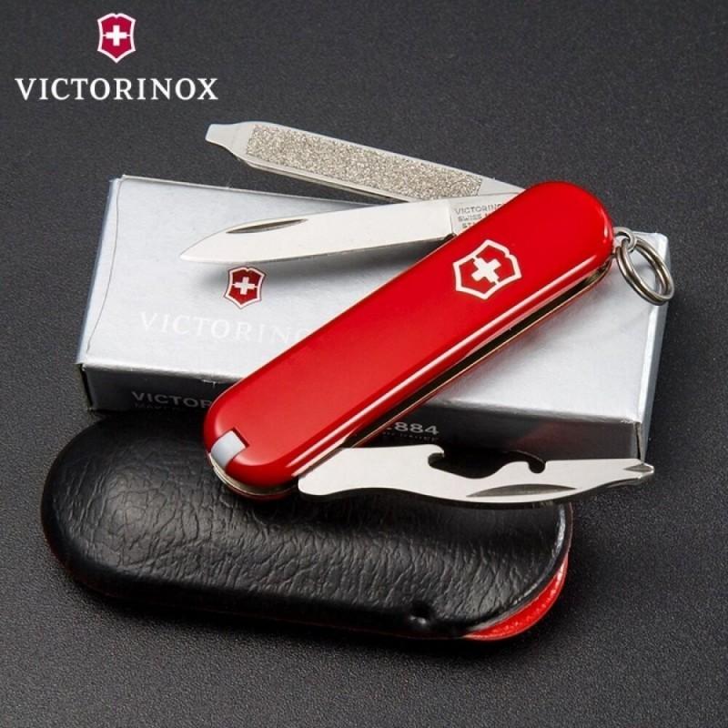 Нож-брелок Victorinox Rally (0.6163) 9 функций, 58 мм. в сложенном виде   Wenger-Victorinox.Ru