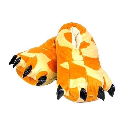 Тапочки царапки жираф детские