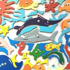 Рыбалка-мозаика Океан
