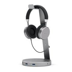 Подставка для наушников Satechi Aluminium USB 3.0 Headphone Stand серый космос