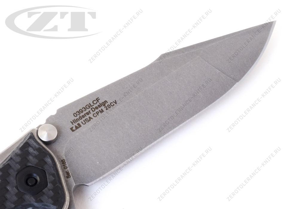 Нож Zero Tolerance 0393GLCF Hinderer - фотография