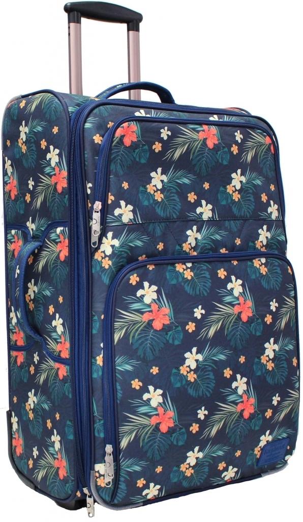 Дорожные чемоданы Чемодан Bagland Леон большой дизайн 70 л. сублимация (цветы) (0037666274) 8613e9c2330f2be5e481c5d751507acc.JPG
