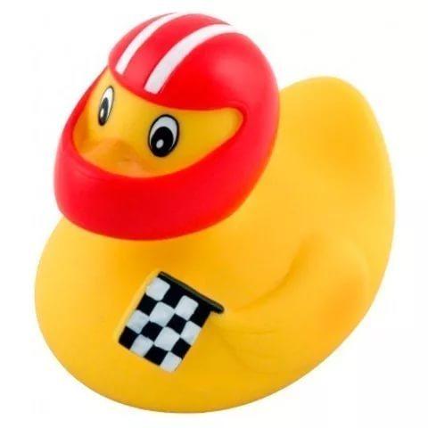 Игрушка для ванны - утки, 0+, форма: (гонщик)