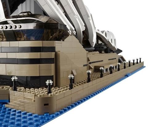 LEGO Creator: Сиднейский оперный театр 10234 — Sydney Opera House — Лего Креатор Создатель