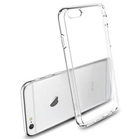 Чехол для iPhone 6 Plus / 6S Plus - Силиконовый Прозрачный