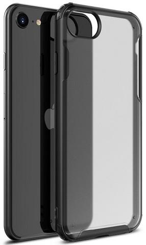 Защитный чехол на iPhone SE (2020), 7 и 8 с черными рамками, серии Ultra Hybrid от Caseport