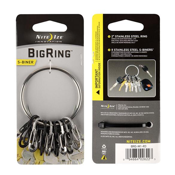 Брелок для ключей Nite Ize BigRing