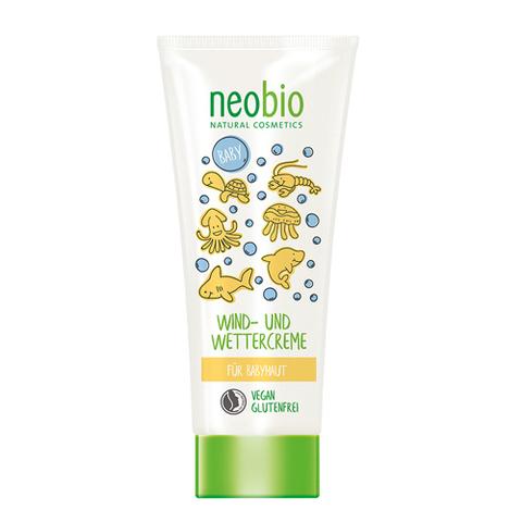 Neobio, Детский защитный крем от ветра и холода с Био-Календулой, 100мл