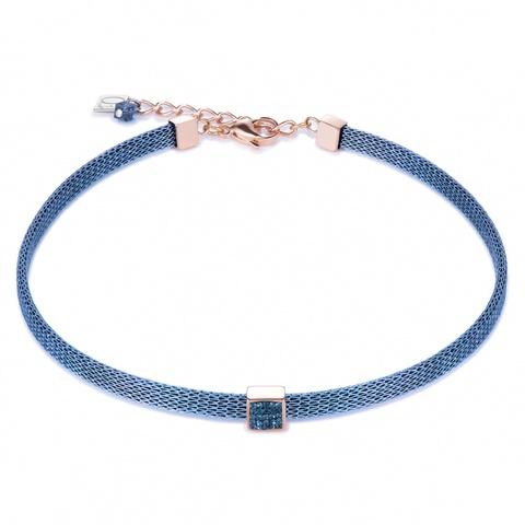 Колье Coeur de Lion 0217/10-0735 цвет синий