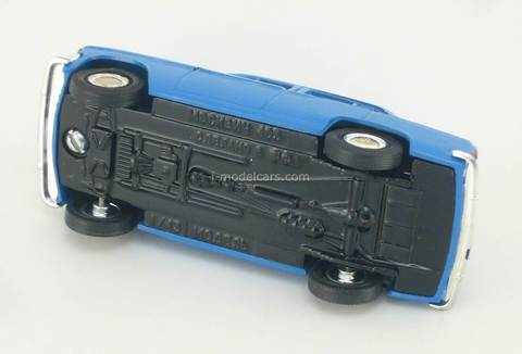 Moskvich-403 blue Agat Mossar Tantal 1:43