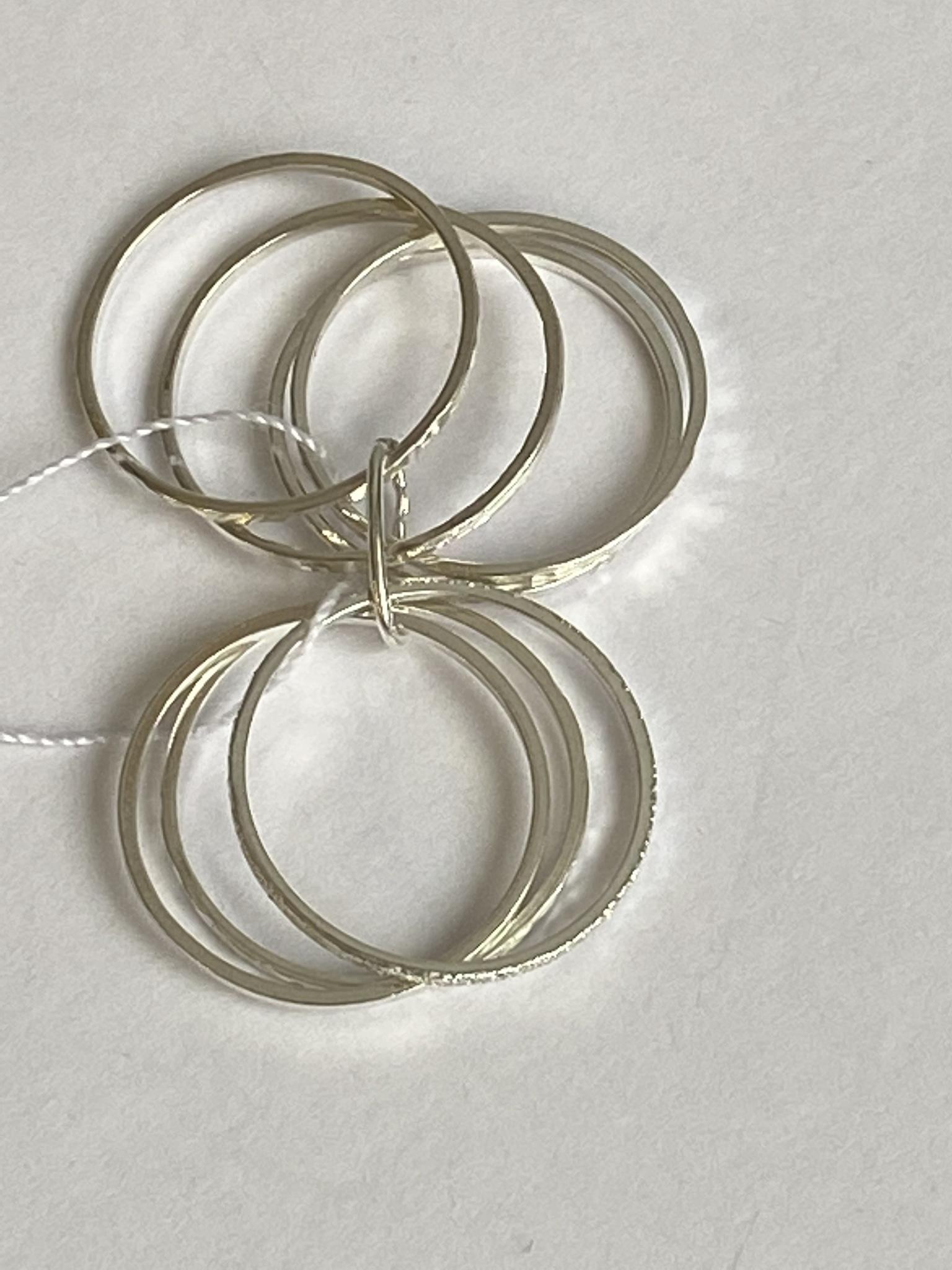 Неделька (кольцо из серебра)
