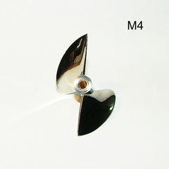 CNC propeller OCTURA X445 thread - М4 stainless steel modification