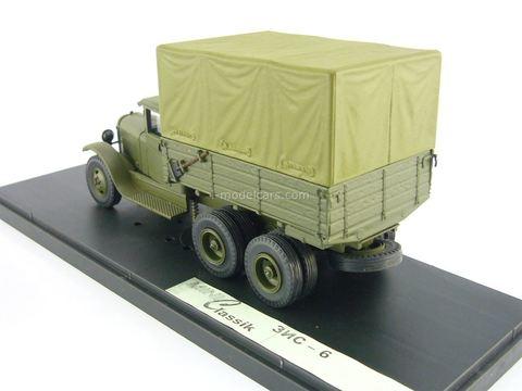 ZIS-6 with awning khaki 1:43 Miniclassic