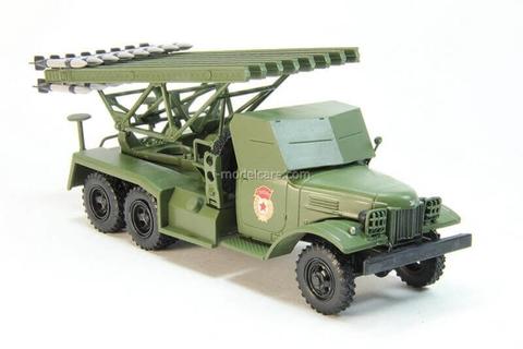 ZIS-151 Katyusha BM-13 Rocket System 1:43 DeAgostini Auto Legends USSR Trucks #2